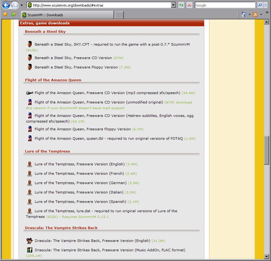 File:Freewaregames png - ScummVM :: Wiki